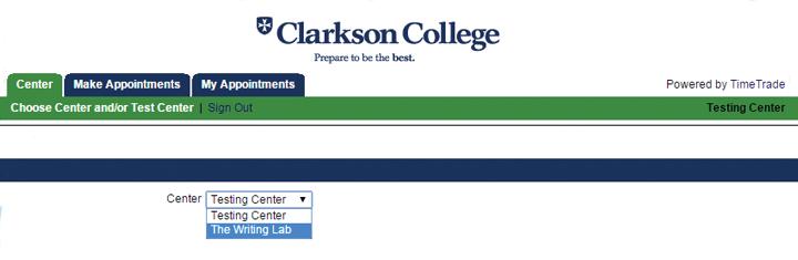 Writing Lab screenshot